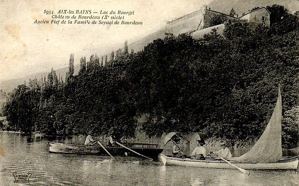 Chateau de Bourdeau - Lac du Bourget
