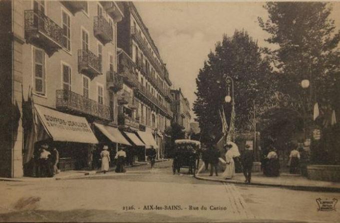 Aix-les-Bains - rue du casino - Gompers joaillierie