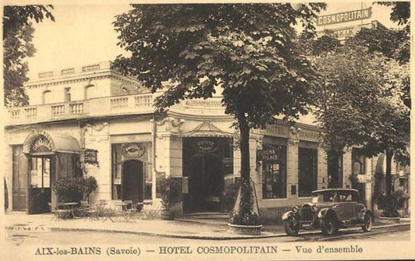 hotel cosmopolitain Aix-les-Bains