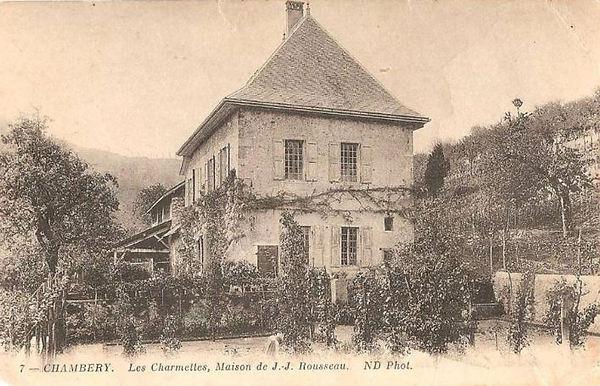 Les Charmettes - Jean-Jacques Rousseau