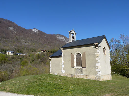 La Chapelle de l'Etoile, village de la Chapelle-du-Mont-du-Chat