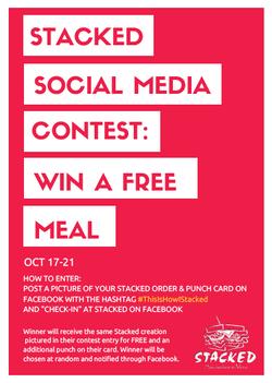 Social Media Contest Flyer