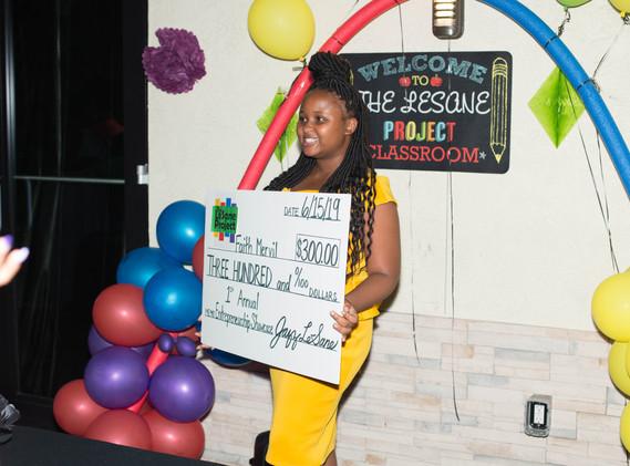 2nd Place Winner Faith Mervil