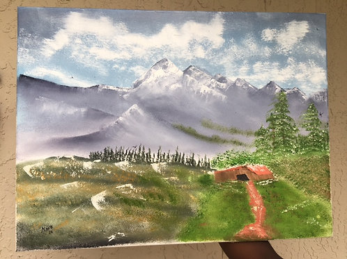 TLP Mountain Painting