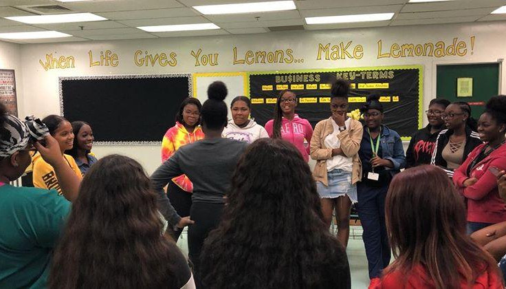 Group Activity at the Blanche Ely Workshop