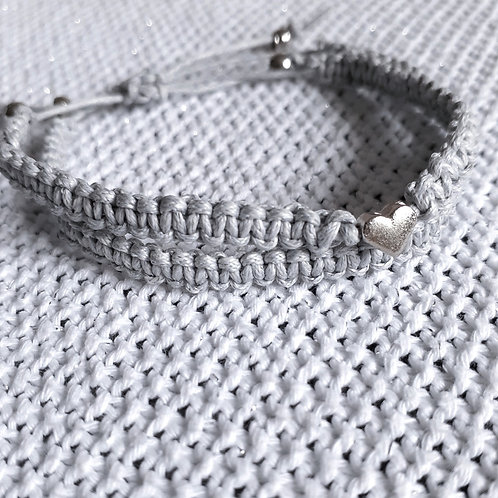Grey Knitting