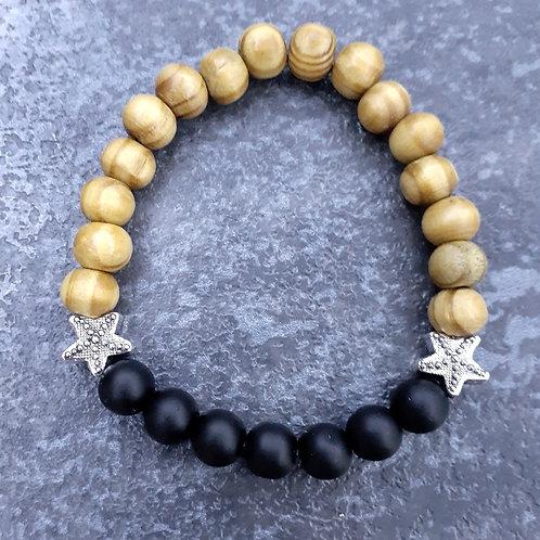 Wooden Black (Mat Onyx Stone)