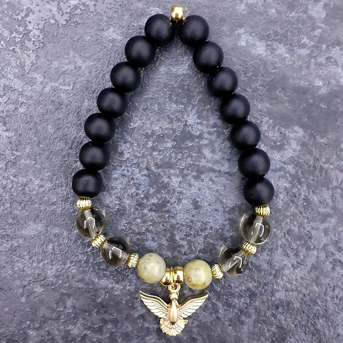 Golden&Black (Mat Onyx Stone)