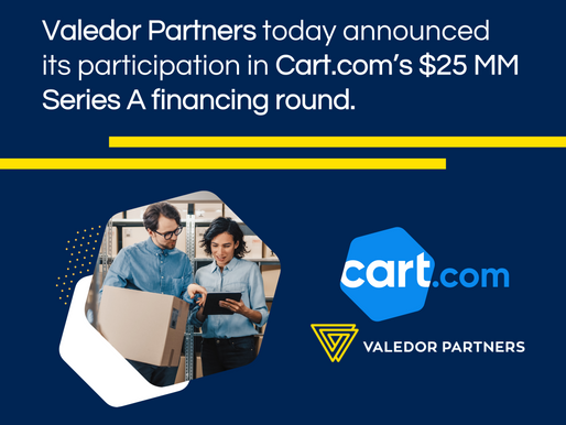Valedor Partners - Cart.com Press Release