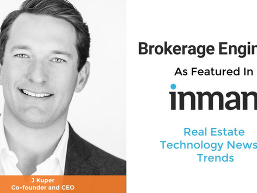 Valedor PropTech client Brokerage Engine featured in Inman