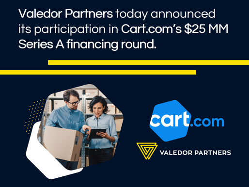 Valedor Partners - Cart.com Press Release