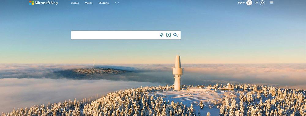 Bing search in Australia