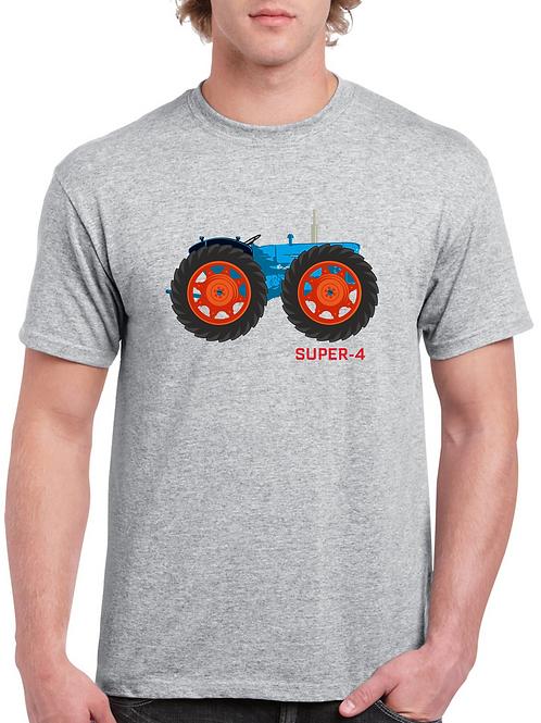 Fordson County Super-4 Inspired T-shirt, Gildan.