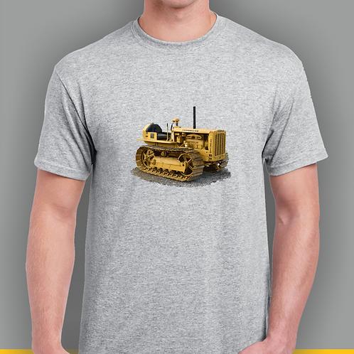 Cat D2 Crawler Tractor T-shirt, Gildan.
