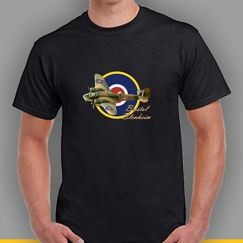 Bristol Blenheim WW2 plane Inspired T-shirt, Gildan.
