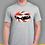 Thumbnail: 240, 260,280 Z Inspired T-shirt on Rising Sun Flag, Gildan.