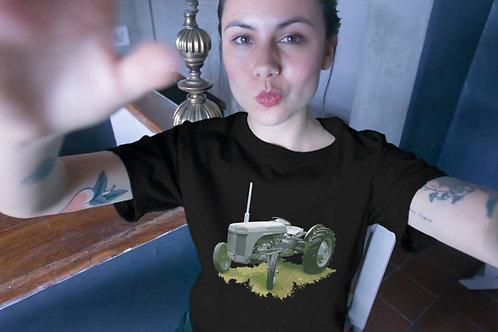 Grey Ferguson TEF 20 Tractor Inspired T-shirt, Gildan.