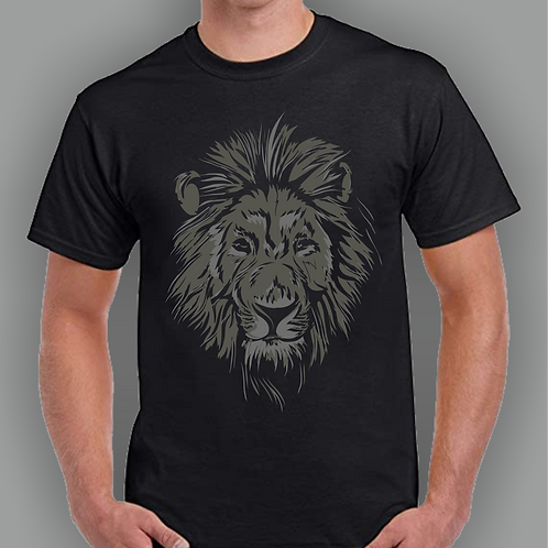 Lion Inspired T-shirt, Gildan, Gift