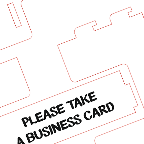 Business card holder file download