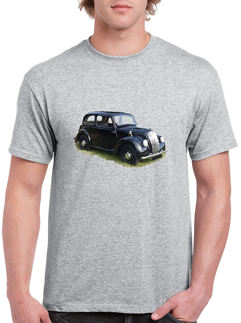 Morris 8 series e Inspired T-shirt, Gildan.