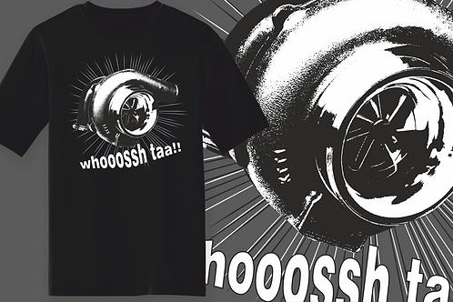 Big Turbo, Modified, Tuned Car Inspired T-shirt, Gildan.