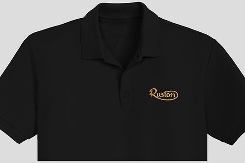 Ruston vintage engine embroidered garments