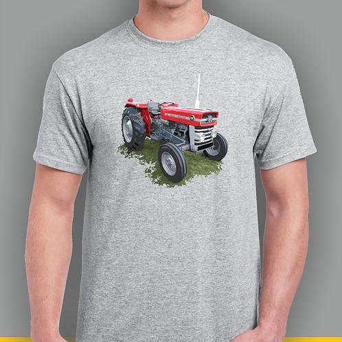 Massey 135 Tractor Inspired T-shirt, Gildan.