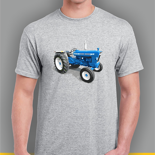 Ford 5000 Tractor Inspired T-shirt, Gildan.