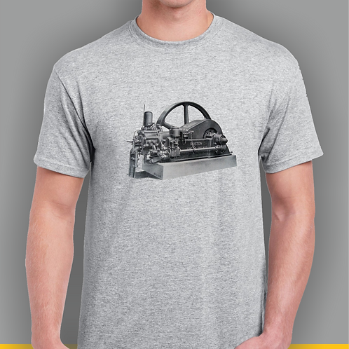 Ruston and Hornsby HR Stationary Engine T-shirt