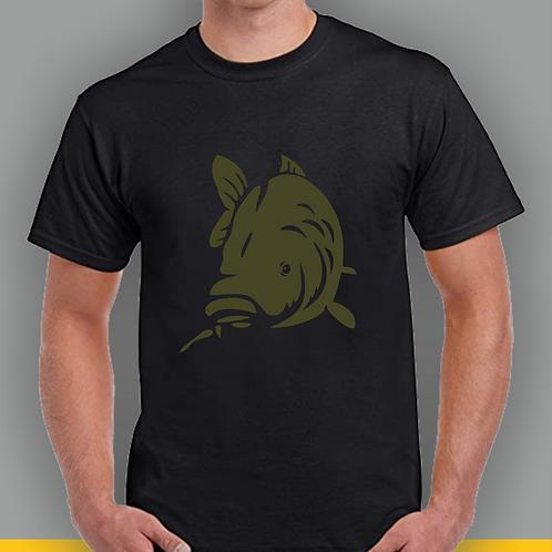 Carp Fishing Inspired T-shirt, Gildan, Gift