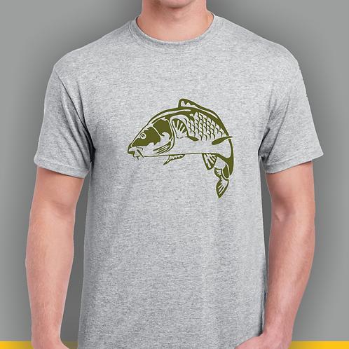 Carp Fishing Inspired T-shirt, Gildan, Gift #002