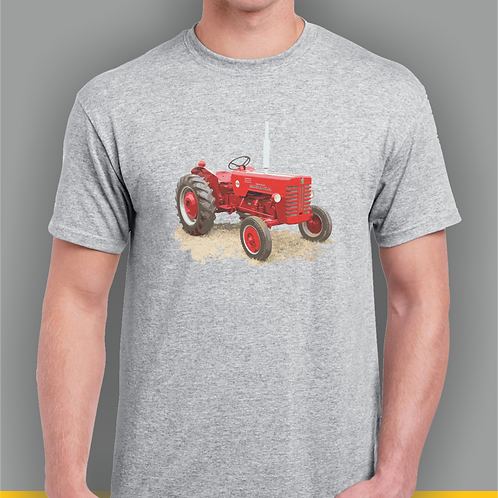 International B250 Tractor Inspired T-shirt, Gildan.