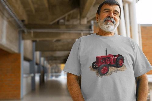 David Brown Cropmaster Tractor Inspired T-shirt, Gildan.