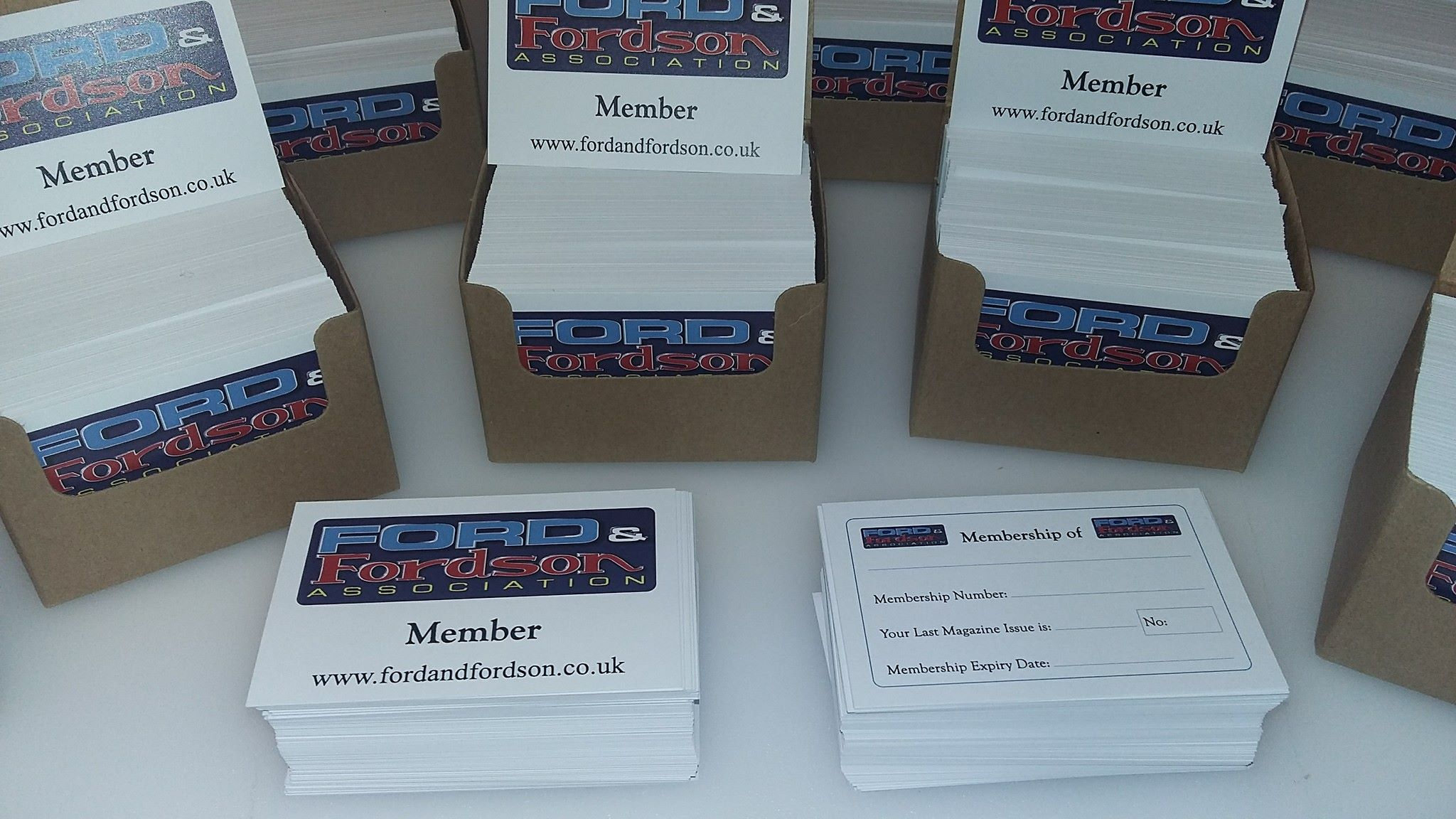 Membership / Appointment cards