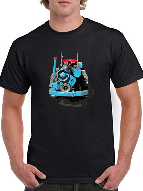 MG 6 Crawler Tractor Inspired T-shirt, Gildan.
