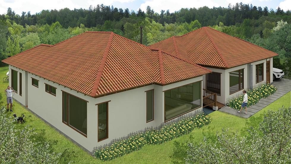 Preciosa casa con 4 habitaciones, 4 baños y chimenea. 5QU5W 221