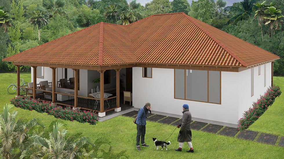 Espaciosa casa con 3 alcobas, 4 baños, terraza y porches. 3QE4W-194K