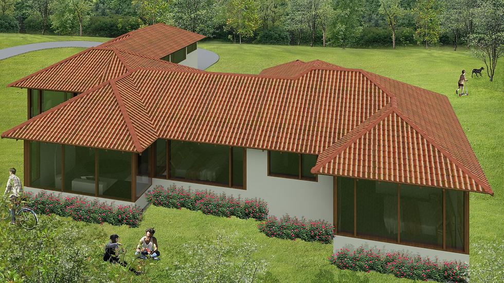 Adorable casa con 4 habitaciones y 4 baños.  4QU4W-189