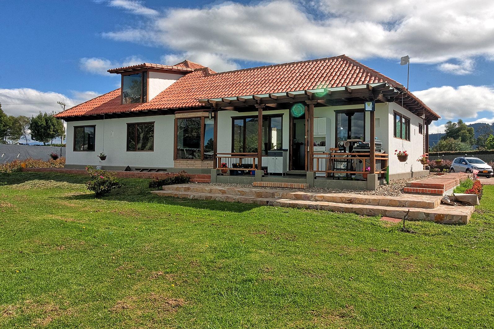 Casas campestres venta de planos constructora for Casas prefabricadas para terrazas