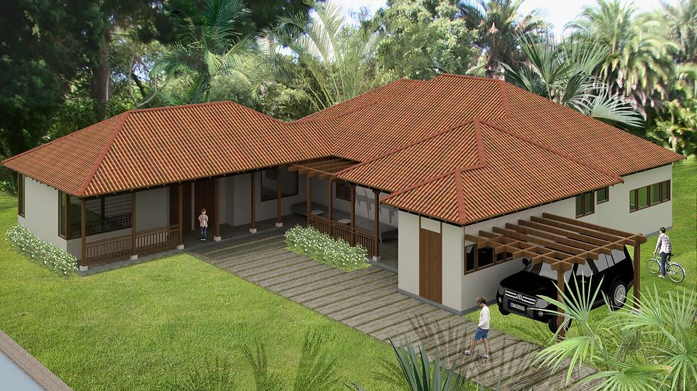 Espaciosa casa con 7 habitaciones, 6 baños y una terraza perimetral. 7QL 254