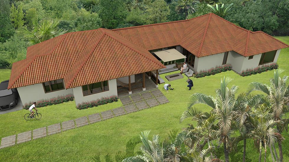 Encantadora casa con 4 habitaciones, 5 baños y terraza. 5QE5W 250k