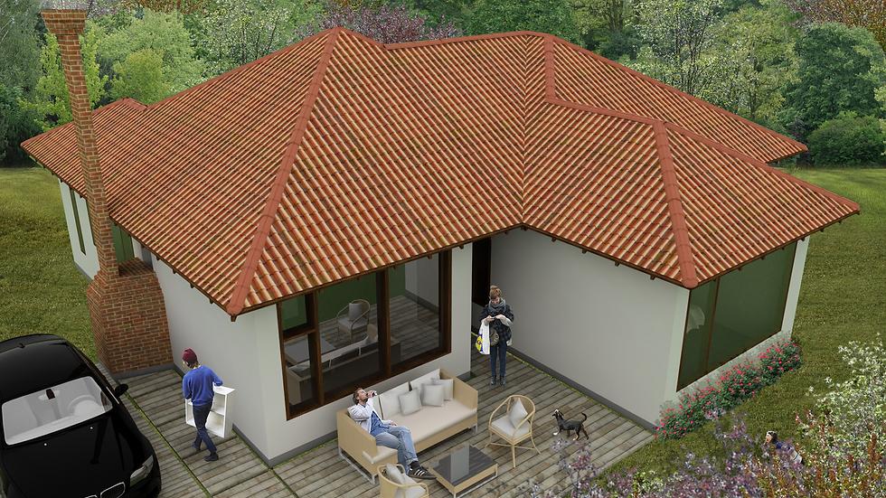 Bella casa de 3 habitaciones, 3 baños y sala con chimenea! 3Q3W-126