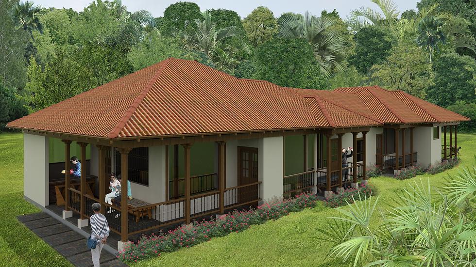 Adorable casa con 4 habitaciones, 4 baños y terrazas! 4QU-217k