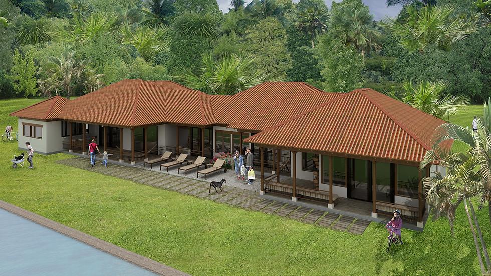 Agradable casa de 5 habitaciones, 5 baños y múltiples balcones! 6QE- 395k