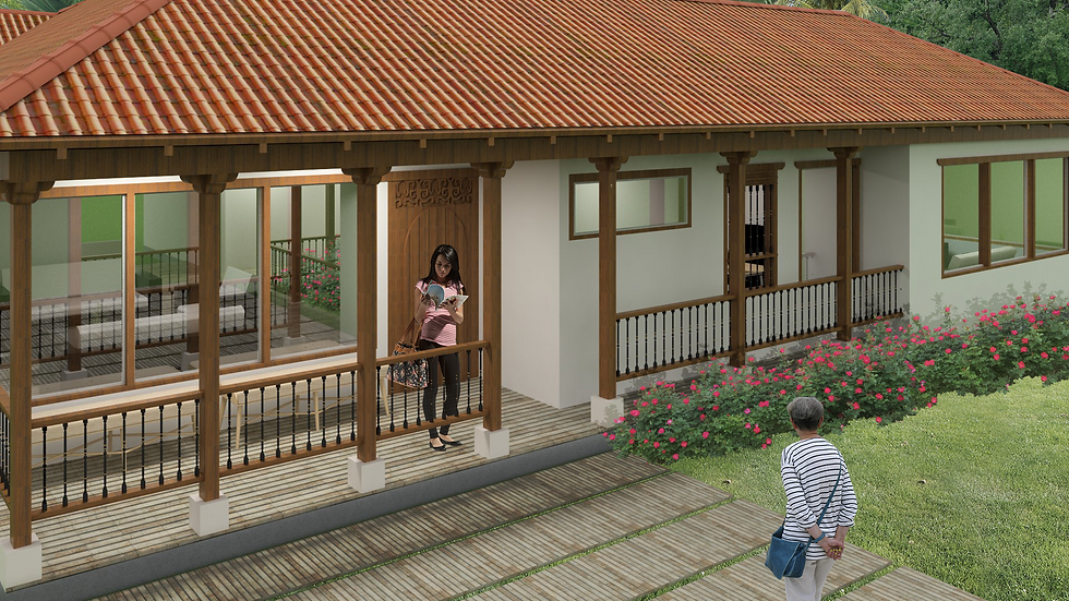 Agradable casa con 3 habitaciones, 3 baños, jardín interno y bbq. 4QO 233