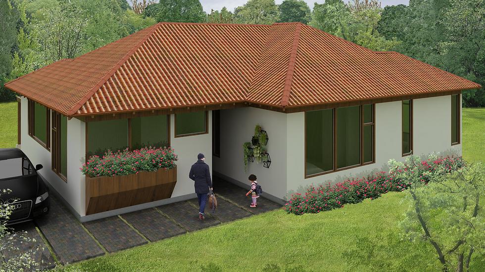 Actrativa casa con 3 habitaciones, 3 baños y cocina en barra! 3QE3W-130