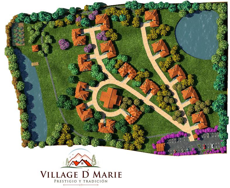 Plano General Village D' Marie