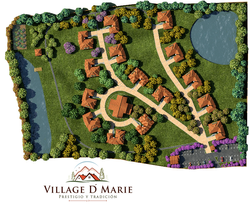 Plano General Village D' Marie