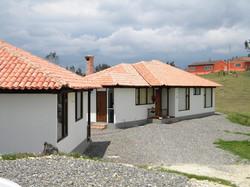 Conjunto de casas campestres