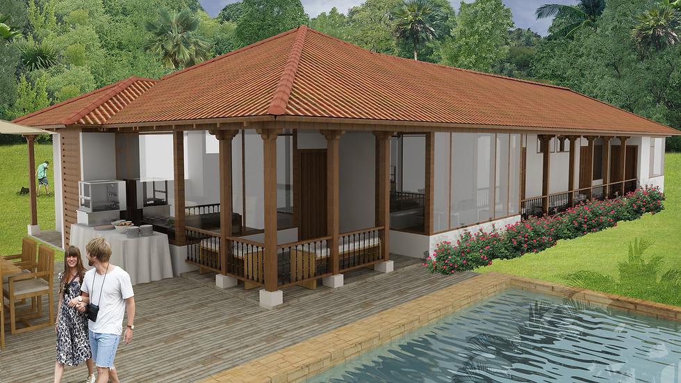 Hermosa casa de 3 habitaciones, 3 baños y terraza. 3QU4W-206